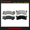 Auto Spare Parts 7280AD153 for GMC TRUCK C2500 C3500 G3500 Brake Pads