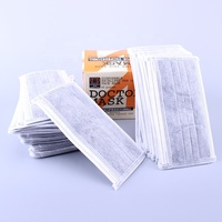 4 Layer Disposable Activated Carbon Filter Face Mask With Earloop