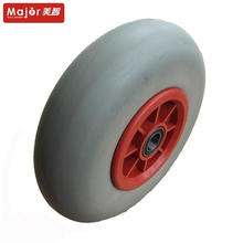 9 inch pu molding wheel 9x2 airless tire for sale