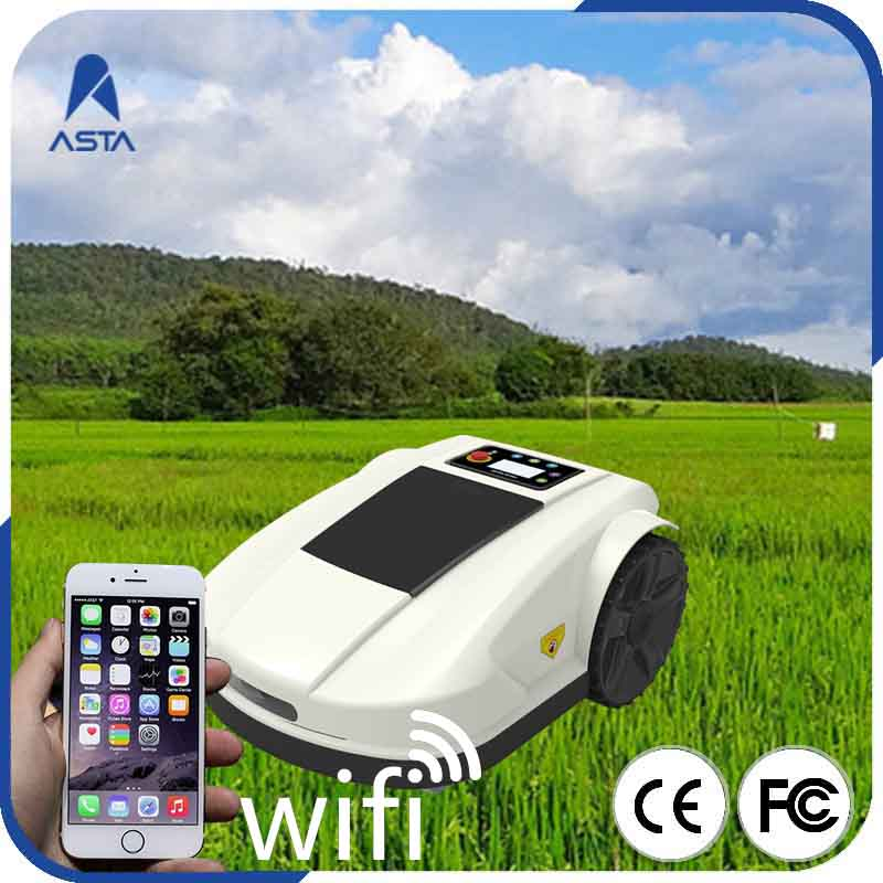 Smart grass robotic lawn mower, mower tractor, newest grass lawn mower S520, Li ion automower with CE and RoHS