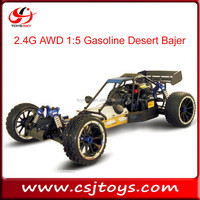2015 new product 2.4G AWD 1:5 large Scale Gasoline RC Desert Bajer HSP nitro buggy