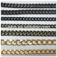 metal parts for handbag handles chains