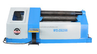 Hoston Brand 4 Roller Aluminum Composite Panel Roller Bending Machine