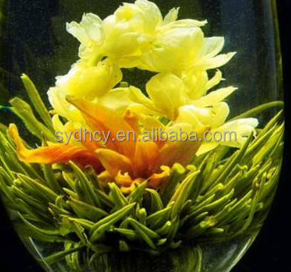 natural healthy artistic blooming tea