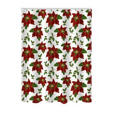 European Style 100% Polyester Easy Clean Printed Shower Curtains
