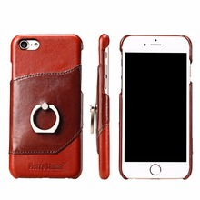 High quality leather oem customized phone case for iphone 8 case