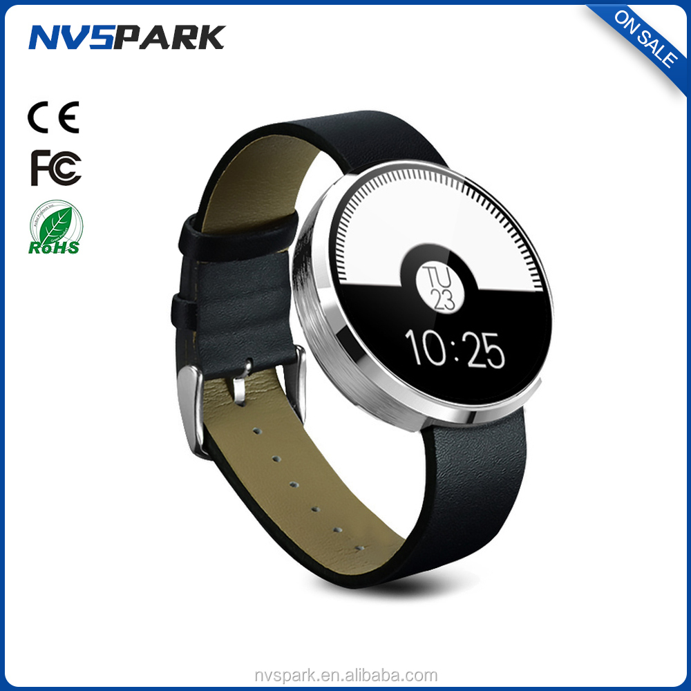 1.22 inch Round screen 3G mobile smart watch phone dm360 smart watch for IOS and Android