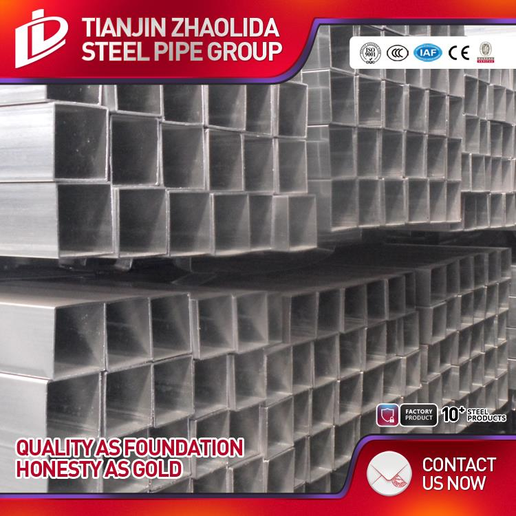 thin wall thickness building material q195\/q235 erw welded pre galvanized square structure steel pipe\/tube