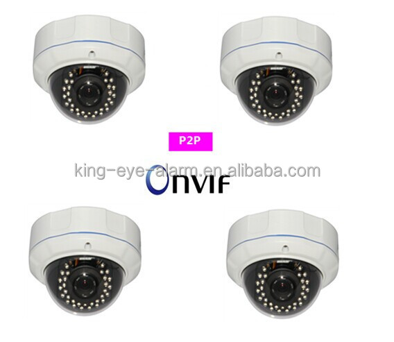 Easy installation diy digital 1080p H.264 dome pir ip camera for monitoring