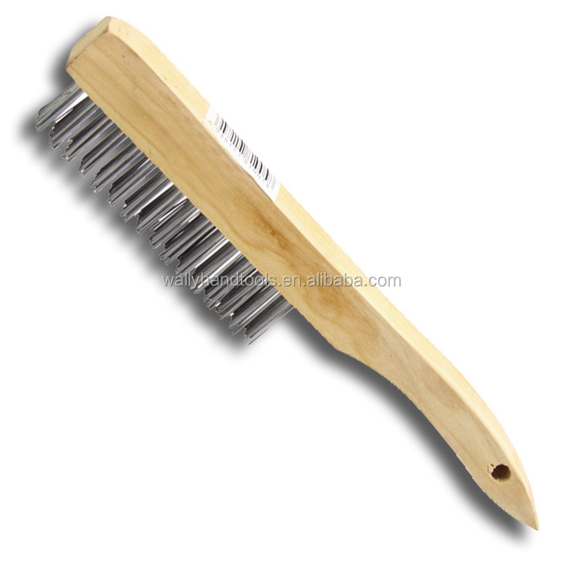Wooden Handle cleaning tool steel Wire <strong>Brush</strong>