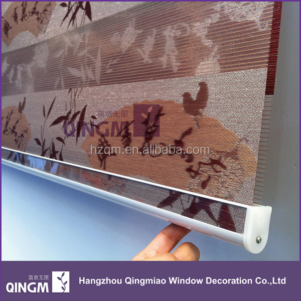 Attractive Design Chinese Bamboo Pattern Jacquard Roller Blinds