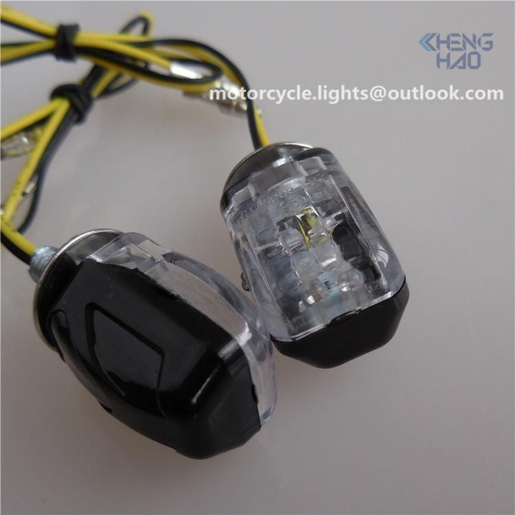 CH-1021 Chenghao hot sale motorcycle parts mini led turn light scooter small led indicators ECE