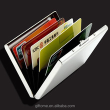 Stainless Steel RFID Blocking Credit Card Holder for Men & Women