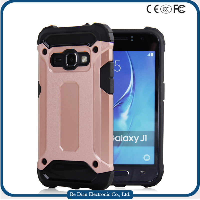 Simple Mobile Accessories Dirtproof Handphone Casing Covers for Samsung Galaxy J1 2016