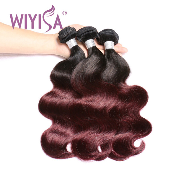 Factory sell cheap 99j hair bulk weave color new, virgin color 99j Peruvian human hair extensions, remy fancy crazy color hair