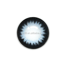 Newest perfect appealing eyes sea blue superior plano color contact lens/Lenses that cheap and fine