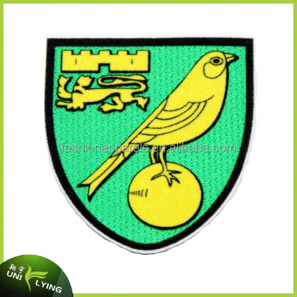 Fashion Design Embroidery Patches Bird 3D Flock Patches With Glue Backing Heat Transfer For Clothing