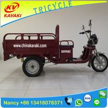 China KAVAKI manufacturer 900W 32AH heavy capacity adult cargo 3 wheel electric motorcycle