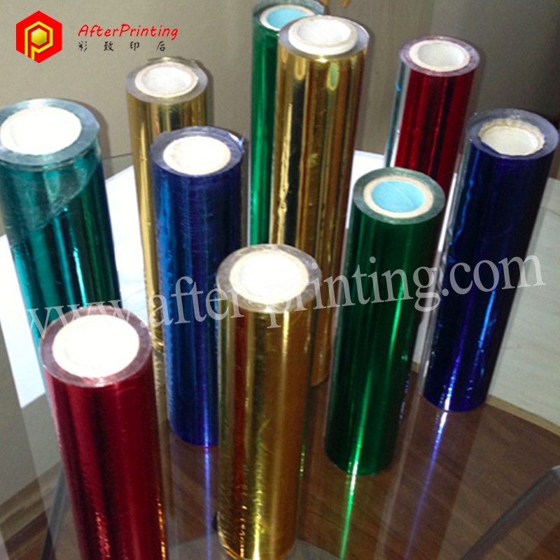 Hot Stamping Film for Paper, Plastics, Leather, Textile, Security