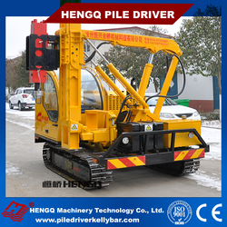 Hydraulic Solar Power Piles Ramming Installation Machine