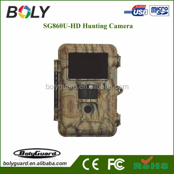 Bolyguard 2.4 Inch 12 Megapixel 720P HD 120 degree Wide Angle IP54 Waterproof wifi Hunting Trail Game Camera Surveillance camera