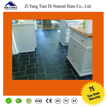 100% natural silicon flooring slate in china