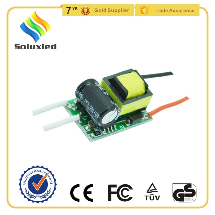 3W LED Bulb Light Driver With Mini Size