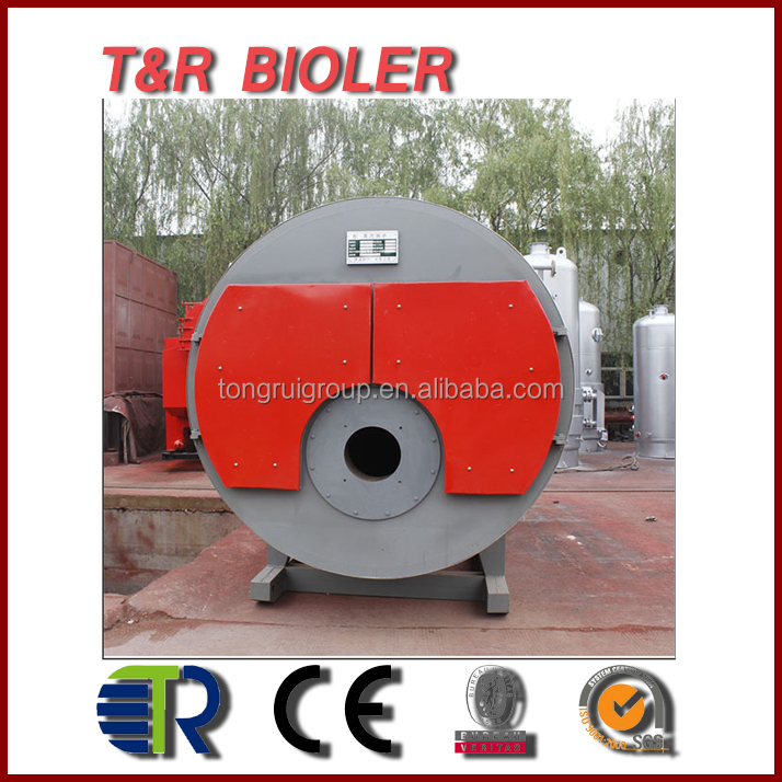 Steam Generator Price 2 ton/h Fire Tube Package Boiler Gas fired Steam Boiler