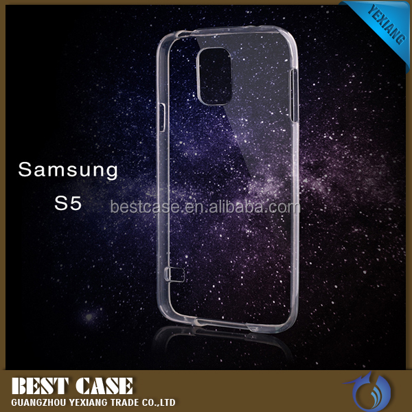 China Wholesale 0.3mm Utra-thin Soft Clear TPU Transparent Protective Case For Samsung Galaxy S5 Mini