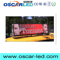 IP65 xxx image taxi led signs for shopping mall advertising