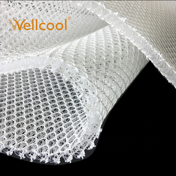 recycled pillow and mattress 10mm thickness 3d spacer mesh fabric