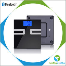 LED light body fat monitor electronic weighing scales for body fat
