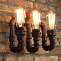 Loft Retro Water Pipe Wall Sconces
