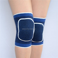 Cotton Knitted Elastic Volleyball Knee Brace