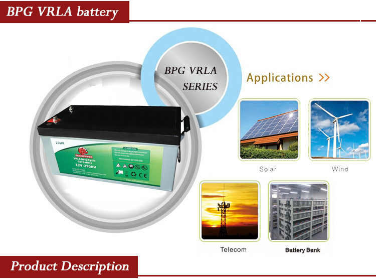 Gel battery 12v 200ah & batteries for solar system Uninterrupted Power Supply (UPS)