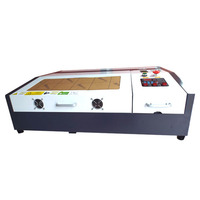 china mini cnc laser K40 stamp marking machine/co2 laser K40 cnc laser