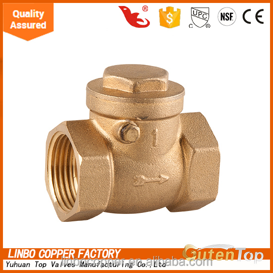 LB-GutenTop RoHS standard check valve price for pex and pap pipes