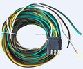 S10387 4way female end pigtail Wire harness