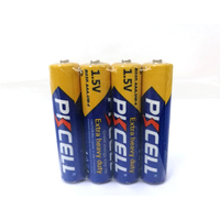 PKCELL Super Heavy Duty Cell 1.5V AAA R03 UM-4 Carbon Dry Battery