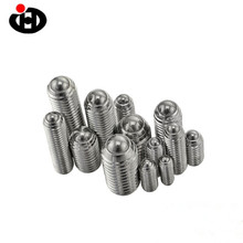 Zhejiang Wenzhou Screw Fasteners Stainless Steel Ball Plunger Slotted Set Screw
