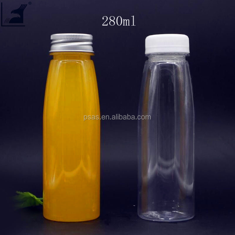 280ml BPA Free juice milk bottle with Tamper Evident Safety Cap