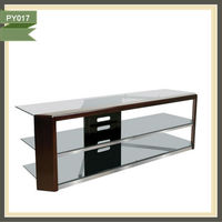 italian design modern granite lcd wooden tv stands PY017