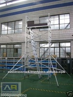 Mobile Aluminium Tower Metal Scaffold Ladder Tower