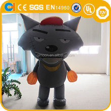 Adversiting Inflatable Cartoon statues , Inflatable wolf for promotion, Inflatable walking cartoon for sale