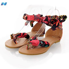 Summer Bohemia Women Ladies Flat Heels Ankle-Wr Sandals Flip Flops Thong Slipper