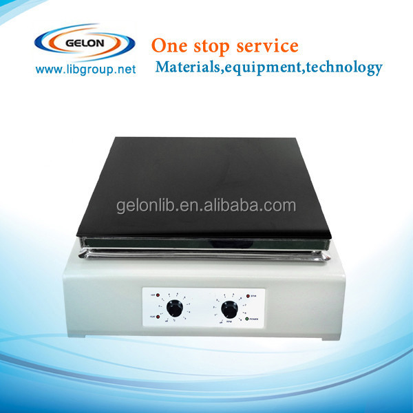 Hot Plate Magnetic Stirrer with maximum plate temp 550 oC