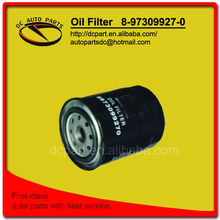 Auto Parts Car Oil Filter Factory for ISUZU 8-97309927-0