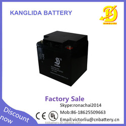 12v 40ah fm Maintenance free sealed deep cycle rechargeable battery for wind power generation