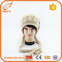 2016 custom baby thick knit free pom hat cartoon characters beanie hats