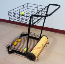 New Tennis Collecting Cart